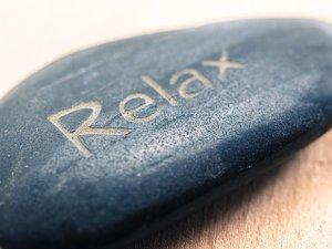 Pietra rilassamento relax