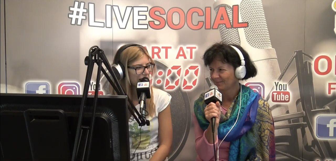 Dott.ssa Prosdocimo esperta in Mindfulness intervistata a Radio Venezia Live Social