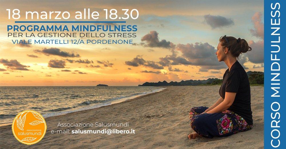 18 marzo 2019 Corso Mindfulness Pordenone
