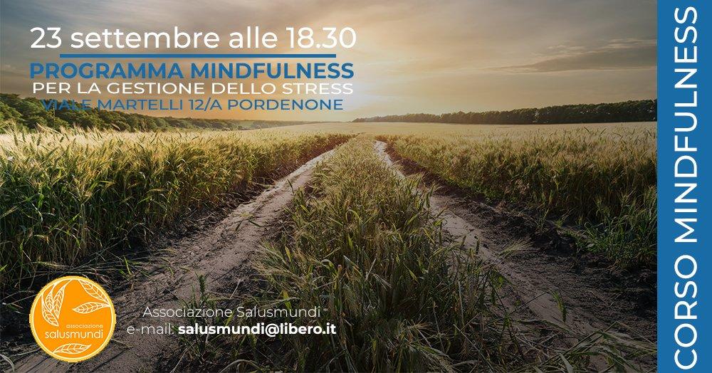 Programma Mindfulness Pordenone