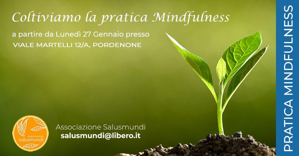 Coltiviamo la Pratica Mindfulness a Pordenone Inizio 27 Gennaio
