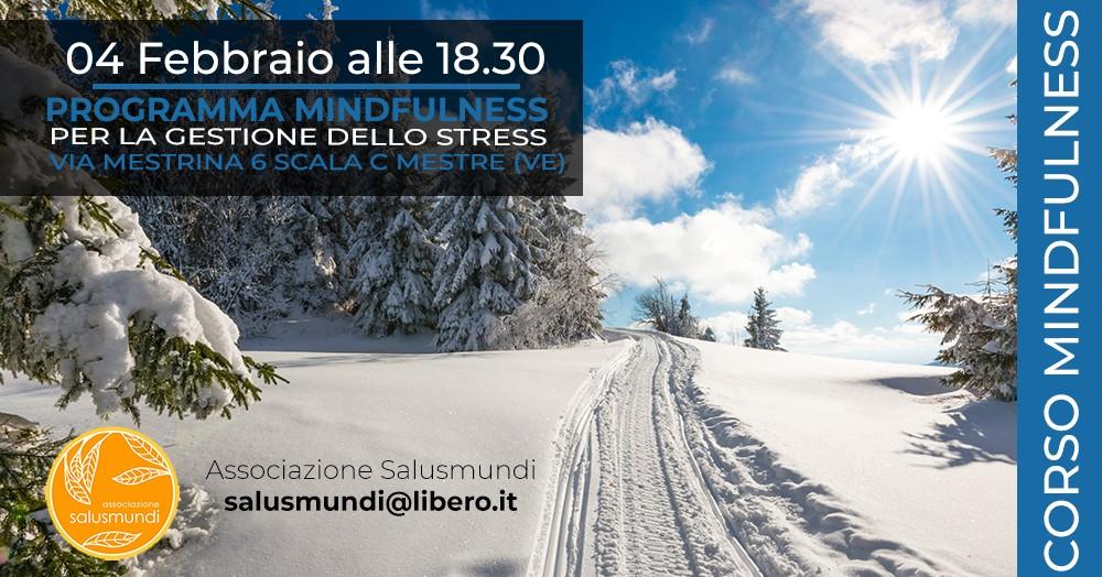 Corso Mindfulness Mestre 4 Febbraio 2020