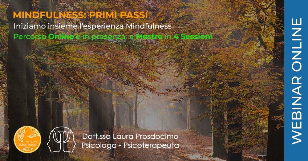 Mindfulness Primi Passi Corso Online e a Mestre